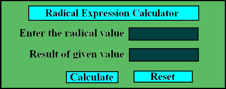 Simplifying Radical Expressions.